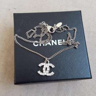 Chanel Classic CC Crystal Necklace