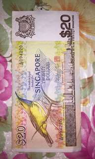 Old Singapore Currency Notes