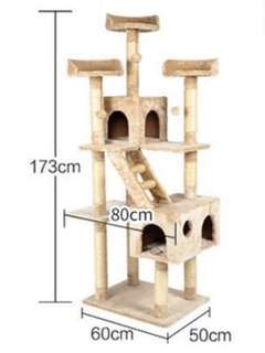 1.8m Cat Tree/ Cat Castle