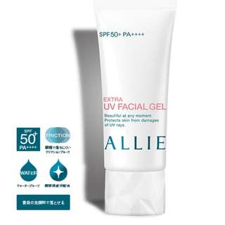 Kanebo ALLIE Extra UV Facial Gel Sunblock sunscreen ☼ SPF50+·PA++++