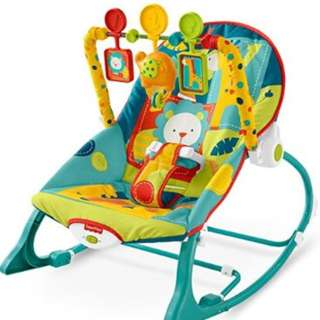 Fisher-Price Baby Bouncer/ Rocker & Walker