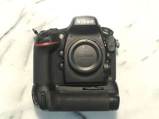 Nikon D800 Camera with MD12