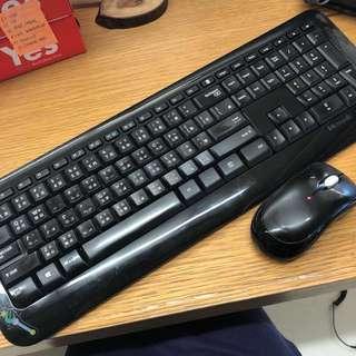Microsoft 無線Keyboard + Mouse