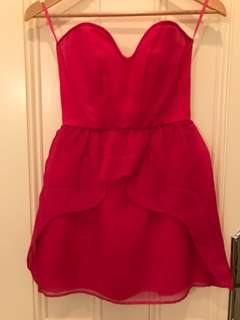 Alice McCall dress size 6 fuschia