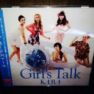 Kara-Girl's Talk CD (with OB strip + Free Photobook)(Sealed)