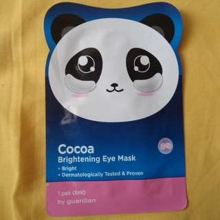 Cocoa Brightening Eye Mask