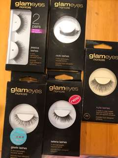 Glam eyes lashes