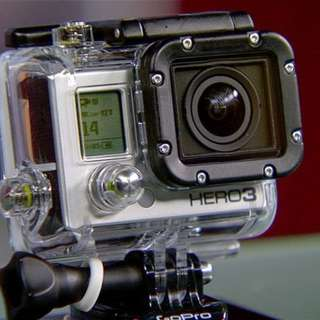 New GoPro Hero 3 - Retails $420 on Amazon, now selling $180 - all items intact - throw in chest, headstrap, selfie stick