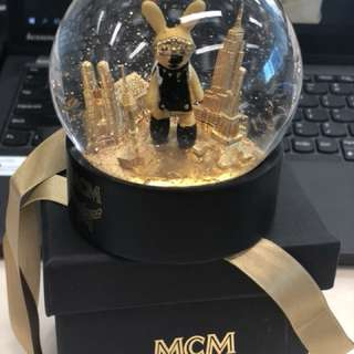 MCM 紀念水晶球 Made in France
