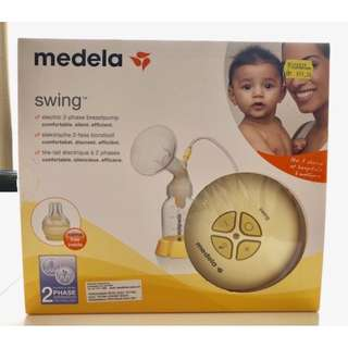 Medela Swing Single Electric Breast Pump (Under Warranty!)