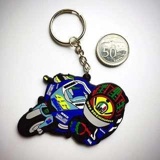 BN Valentino Rossi 3D Rubber Keychain