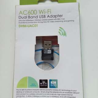 AC600 WiFi Dual Band Adapter