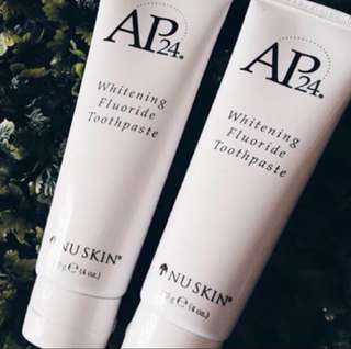 AP24 Whitening Toothpaste 2 for $16