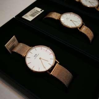 [$100 sale] Daniel Wellington 32mm Melrose White Watch