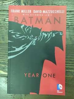 Batman Year One book - Frank Miller