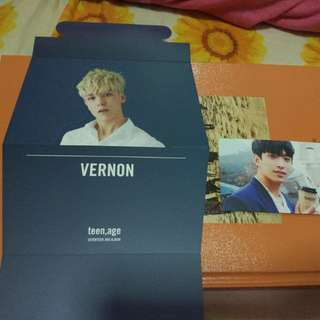 Teen, Age Orange Ver standee PC sticker