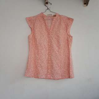 Blouse Pink Flower