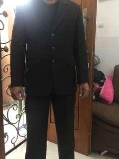 Stelan jas dan celana pria preloved