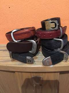 Belts 7 belts $35 In bundle