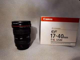 Canon Lense L 17 40 F4 USM