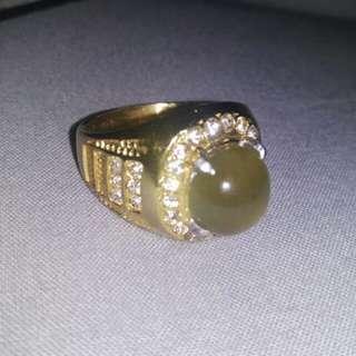 Cincin batu Emas muda 14 karat