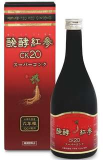 (全新)日本發酵紅蔘飲料 CK20 (六年根) 500ml (原價:$1848)