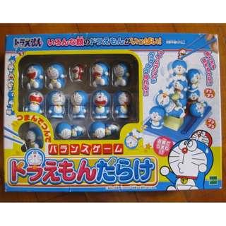 *The Pineapple*【日本玩具】哆啦A夢時光機平衡遊戲/疊疊樂 超可愛~-兒時回憶小叮噹