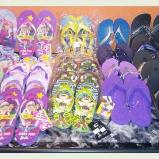 For Sale!😍😊 #SM Kids slippers original.. # Islander  #Ben10 #Frozen #Barbie #Sofia  For only Php 100 Pm lang po ang interested..😉😊