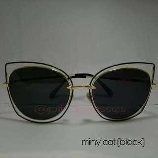 Sunglasses miny cat (black)