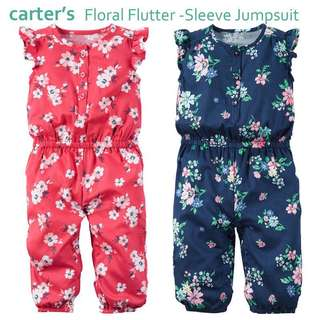 Floral Flutter-Carters Jumpsuit 💯Authentics