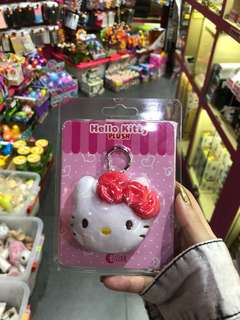 Hello Kitty EZ-Link plush charm
