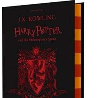 Harry Potter and the Philosopher's Stone - Gryffindor Edition HARDCOVER