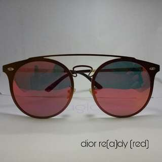 Sunglasses dior re(a)dy (red)