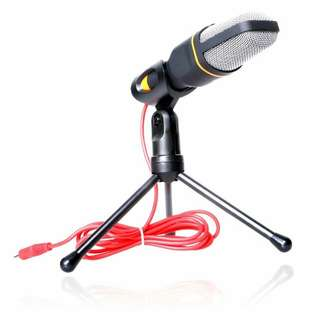 VIMVIP Professional Condenser Skype Audio Sound Podcast Microphone Mic PC Laptop Karaoke Studio