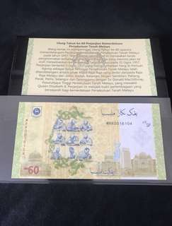 ( weekend offer) 60th Anniversary Malaysia $60 No nego