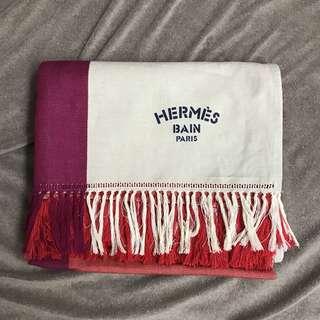 🆕HERMÈS Transat Hermes printed beach blanket