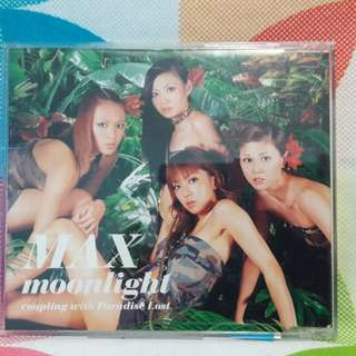 MAX Moonlight coupling with Paradise Lost Single CD