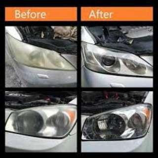 Headlamp polishing