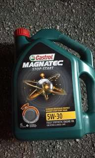 Engine oil castrol and shell
