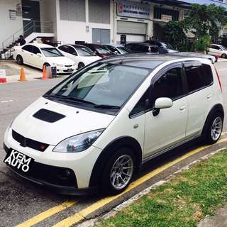 Sporty Mitsubishi colt Ver R 1.5L manual for sale or scrap dekit accessories (Defi, Sccus sports Seat, BC coilover, trust exhaust)
