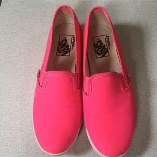 848aa666b2 Original slip-on shoes Vans Neon Pink