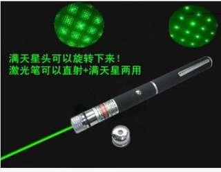 五合一綠光鐳射筆👍