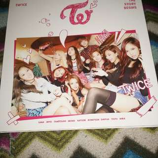 Twice 1st Mini Album