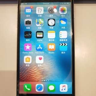 90%新iphone6plus 128gb black
