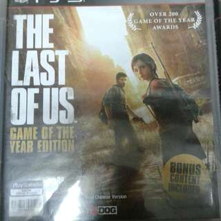 The lost of us Ps3 games