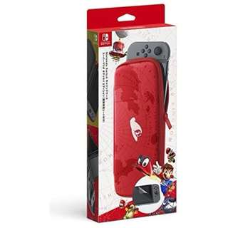 Mario Odyssey Pouch Nintendo Switch With Screen Protector