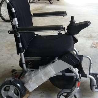 Motorised Wheelchair foldable