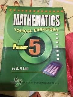 Mathematics topical exercise