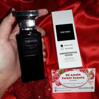 Tomford Tobacco Oud/Noir De Noir Tester Box