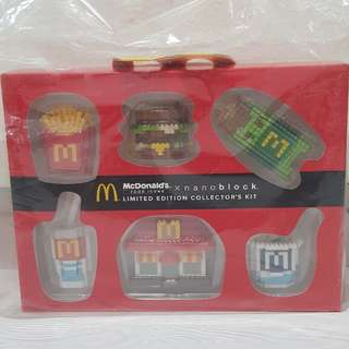 McDonald's x nanoblock Limited Edition Collector's Kit